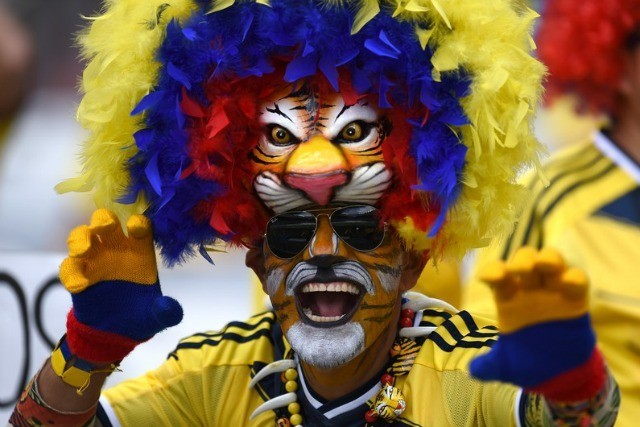 La Colombie réveille le tigre qui est en toi © AFP / P.Ugarte